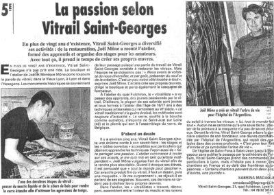 2000.09.14. - La passion selon Vitrail Saint-Georges - Le Progres