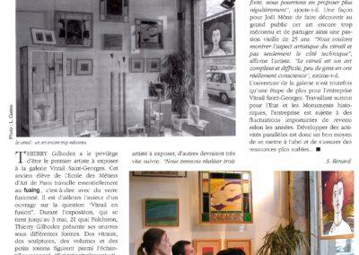 2003.04.19. - Expo Thierry Gilhodez - Les Petites affiches Lyonnaises