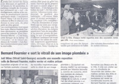 2005.11.15. - Expo Bernard Fournier - Le progres