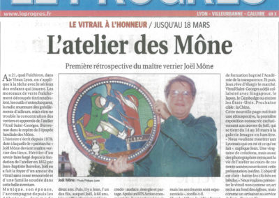 2011.03.16. - L'atelier des Mone - Le Progres