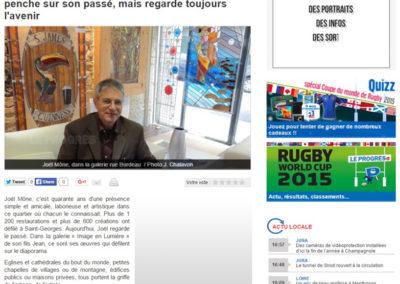 2011.04.06. - Le Progres - Joel Mone Passa, avenir