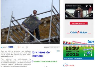 2014.10.14. - Le Progres - Denice - Les vitraux renoves - RASSEMBLE