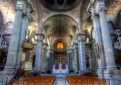 Besancon - eglise Sainte-Madeleine - 2002