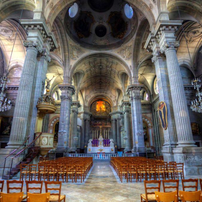 Besançon — Église Sainte Madeleine