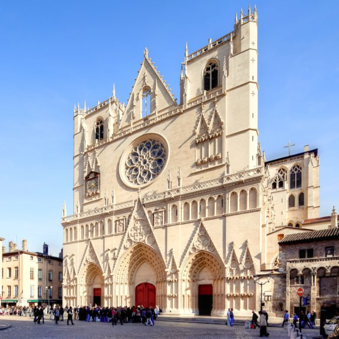 Lyon — Primatiale Saint-Jean