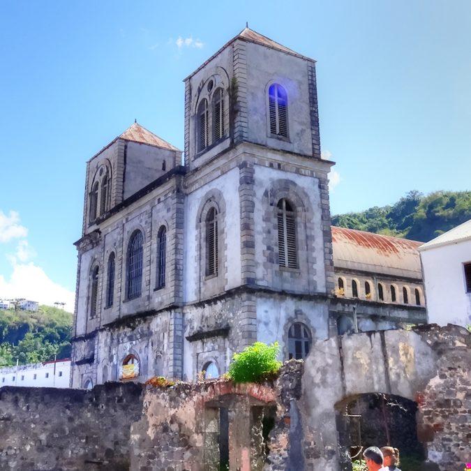 Saint-Pierre (Martinique) – Cathédrale du Mouillage