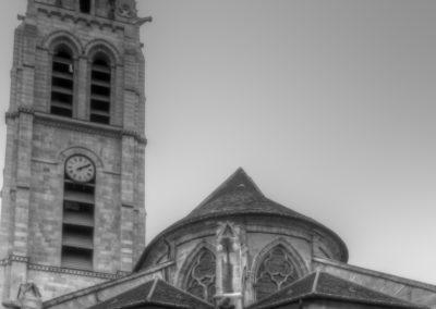 Vitry-sur-Seine - Eglise St-Germain - Restauration des vitraux - Ensemble extérieur