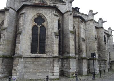 Vitry-sur-Seine - Eglise St-Germain - Restauration des vitraux - Ensemble extérieur coté sud