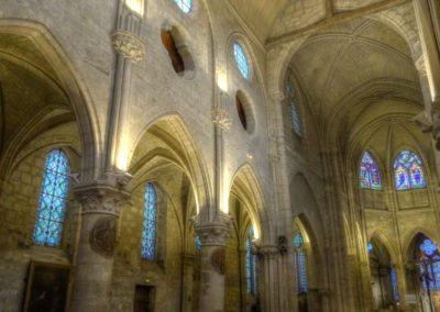 Vitry-sur-Seine - Eglise St-Germain - Restauration des vitraux - Ensemble intérieur