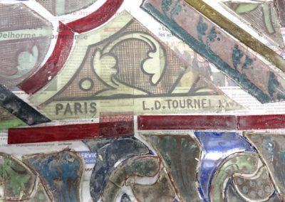 Vitry-sur-Seine - Eglise St-Germain - En atelier vitraux démontés avant nettoyage