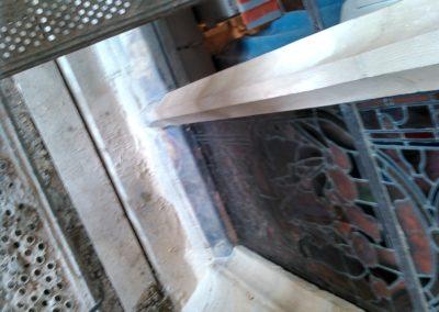 Pargny-sur-Saulx - Eglise de l'Assomption - Restauration avec pose de bavette d'évacuation des eaux de condensation