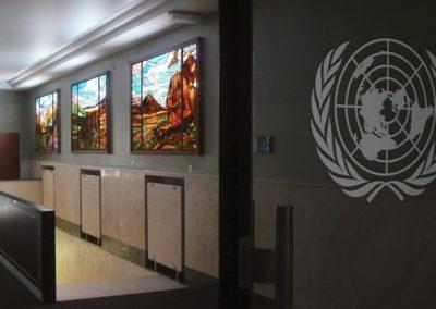 ONU - Genève - Les temps invariables - ONU