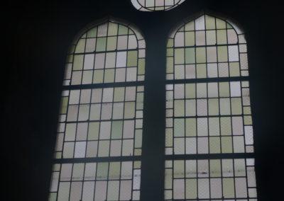 Neublant-Abergement - Eglise St-Etienne - Baie en création de la sacristie - Après intérieur