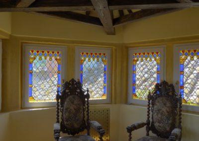 La nuit des temps - Lyon - Interprétation décorative renaissance - petit salon de la tour