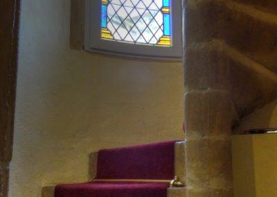 La nuit des temps - Lyon - Interprétation décorative renaissance - accès au petit salon de la tour