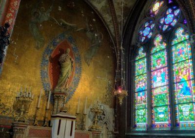Verdun - Cathédrale - Chapelle du Sacré Cœur - Vue intérieur
