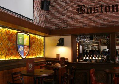 Boston Taverne - Lyon - Place des Terreaux - 2012 - en situation